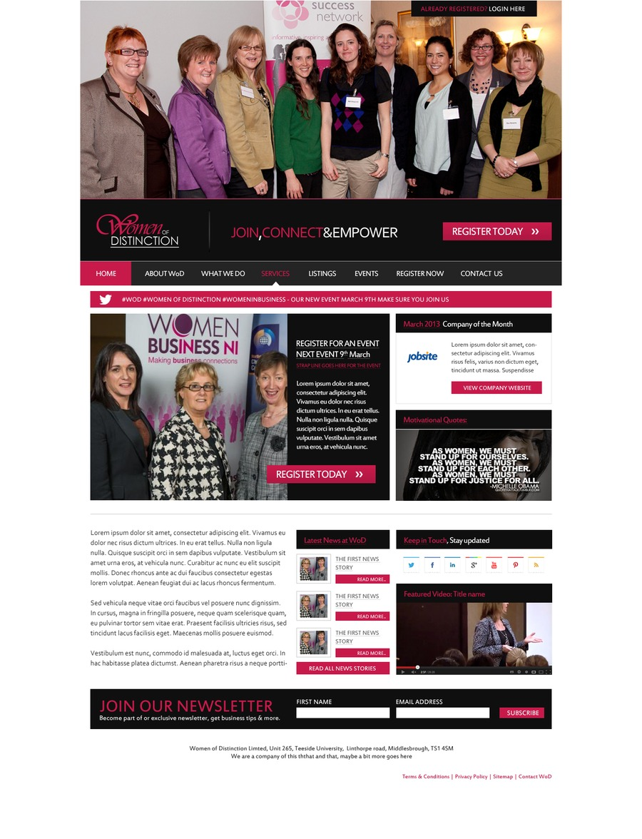 A great web design by MWDMEDIA, Hertfordshire, United Kingdom: