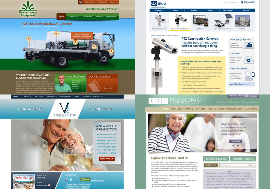 A great web design by ALG - Advanced Website Design, Atlanta, GA: