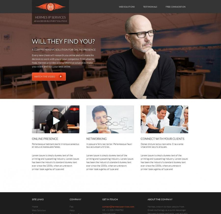 A great web design by Hermes IP Services Private Limited, Atlanta, GA: Responsive Website, Marketing Website , Consulting , Wordpress