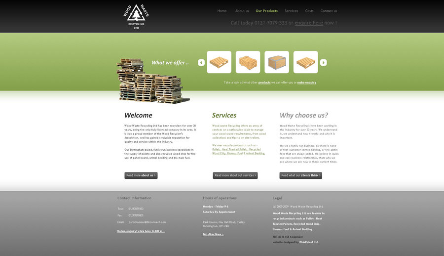 A great web design by PinkPetrol, Birmingham, United Kingdom: