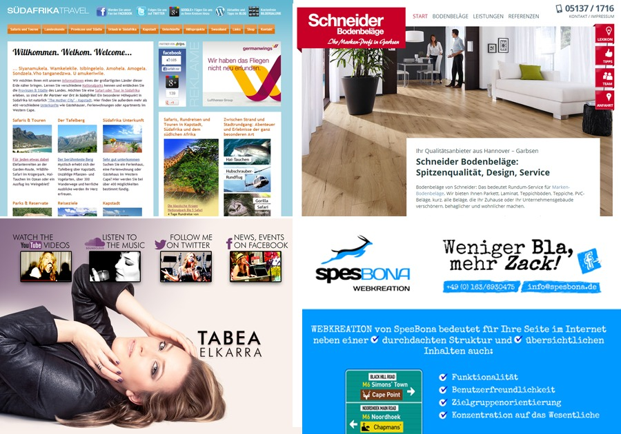A great web design by SpesBona Webkreation, Hannover, Germany: