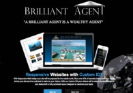 A great web design by Brilliant Agent, Inc., Sarasota, FL: