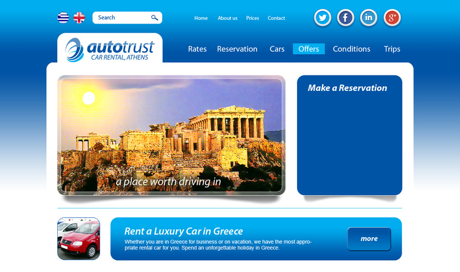 A great web design by inWEB.AL Web Design Studio, Tirana, Albania: Website, Other, Automotive , Drupal