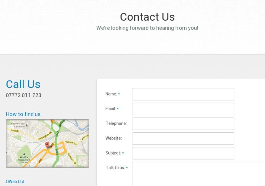 A great web design by QWeb Ltd, Leeds, United Kingdom: