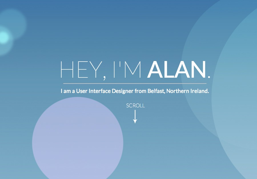 A great web design by Alan Lavery Creative, Belfast, United Kingdom: Website, Portfolio , Internet , Static HTML