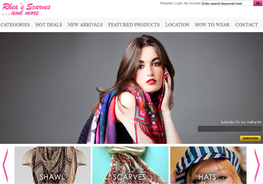 A great web design by NetgainsAmerica , New York, NY: Website, Marketing Website , Fashion , Wordpress