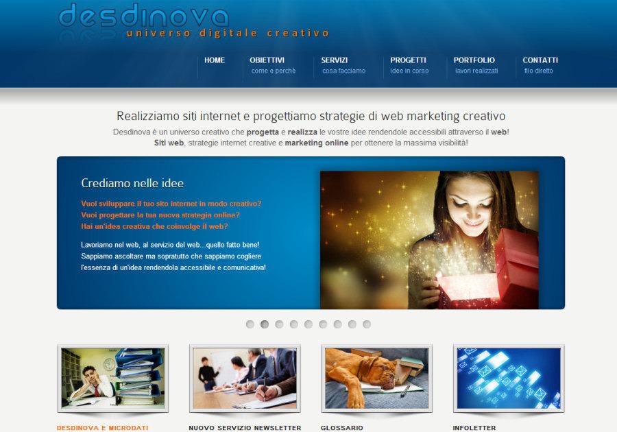 A great web design by Desdinova, Bergamo, Italy: Other, Marketing Website , Technology , ASP.NET