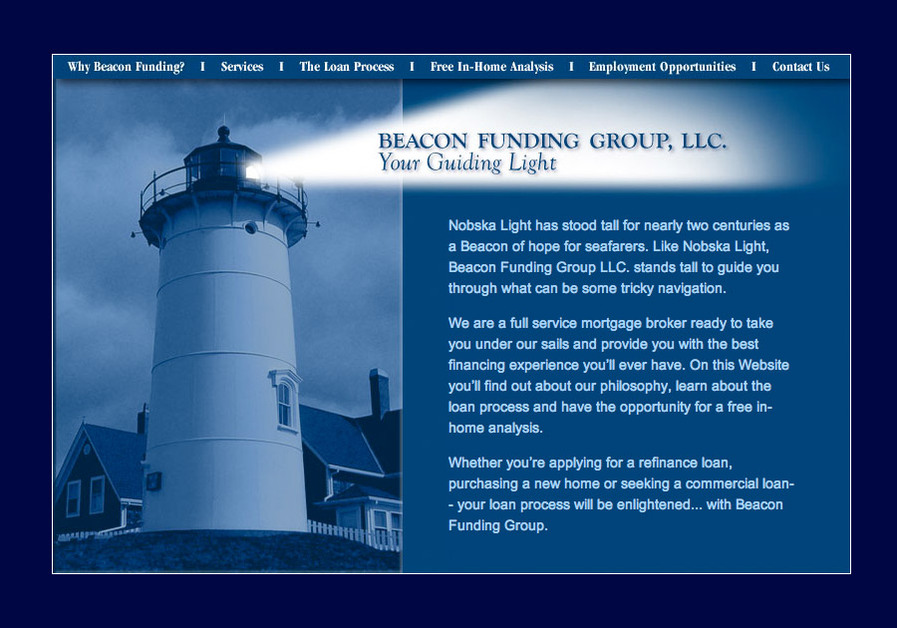 A great web design by m3 Website Design, Boston, MA: