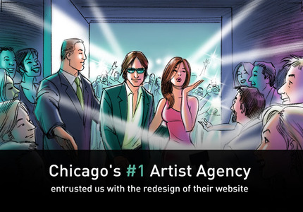 A great web design by Intechnic, Chicago, IL: Television