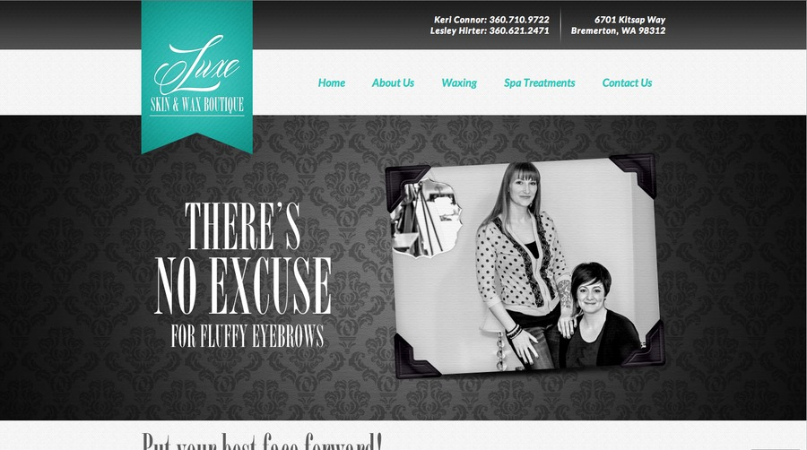 A great web design by Reborn Creative, Seattle, WA: Website, Marketing Website , Health & Beauty , Wordpress