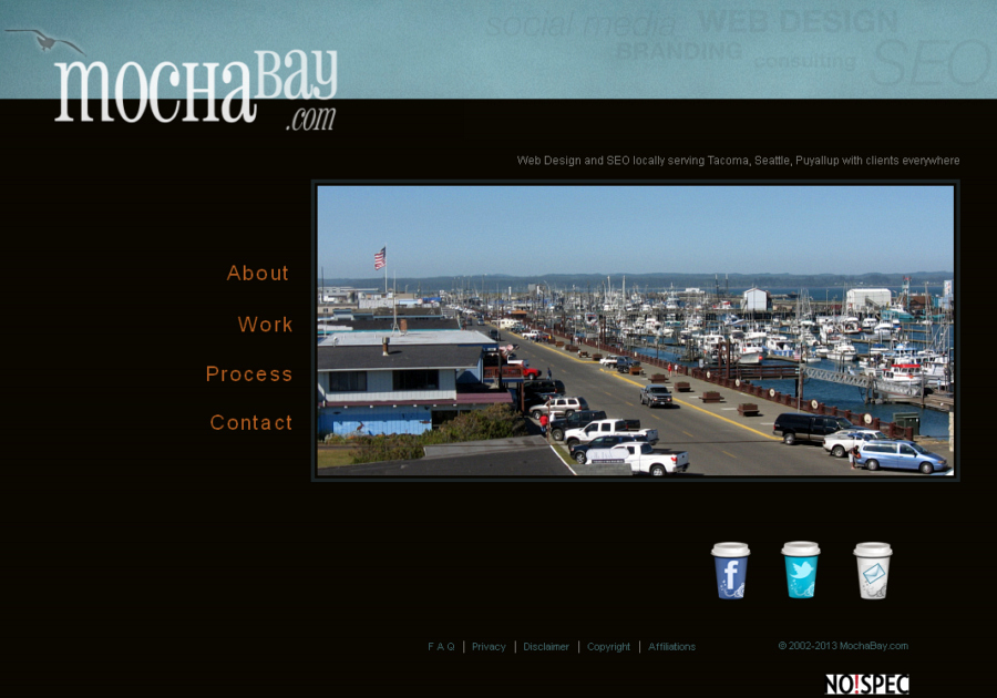A great web design by Mochabay.com, Tacoma, WA: