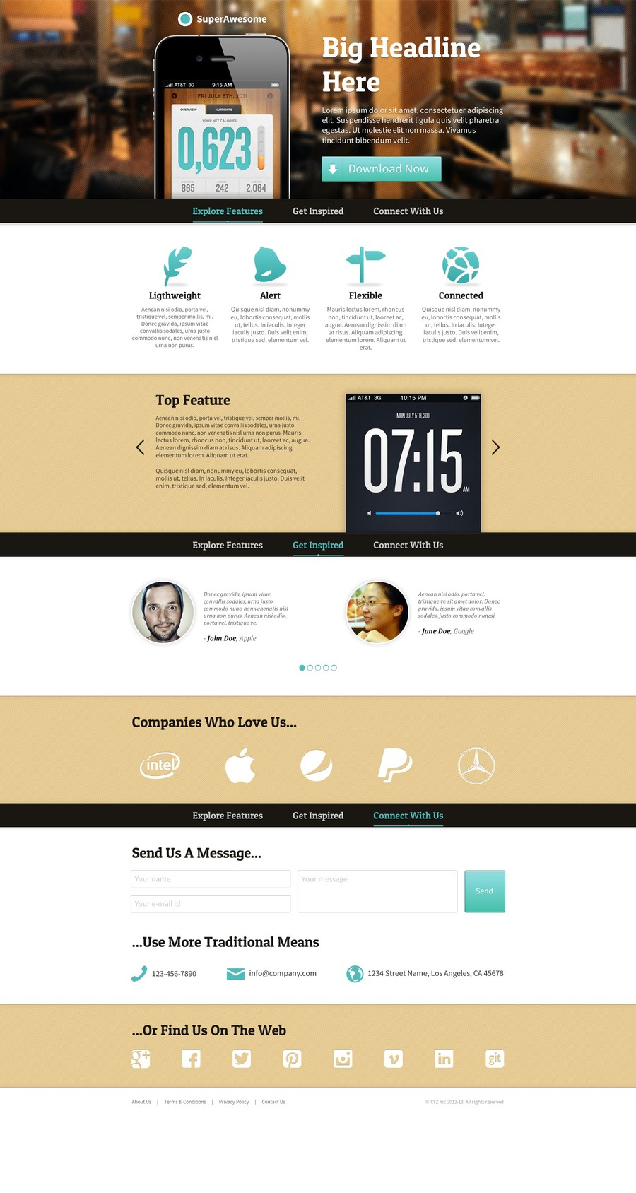 A great web design by Synsynoia Design, Pune, India: