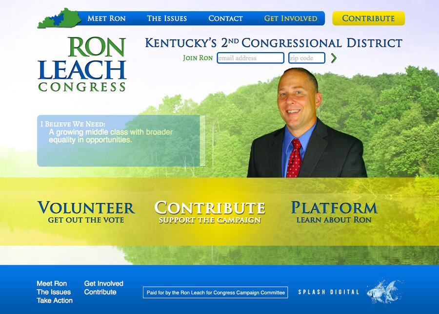 A great web design by Splash Digital, Louisville, KY: