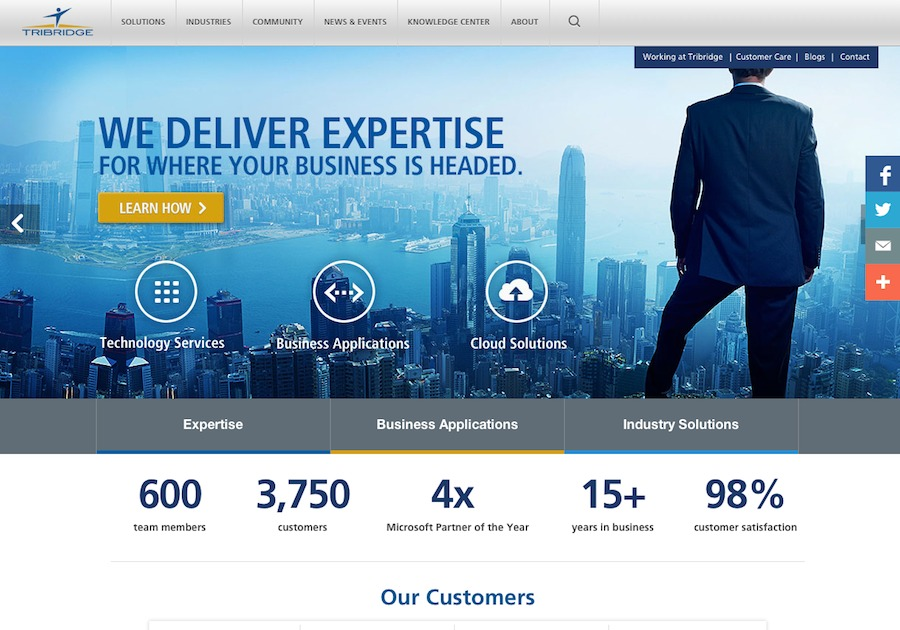 A great web design by Roger West Creative & Code, Tampa, FL: Responsive Website, Marketing Website , Technology , ASP.NET