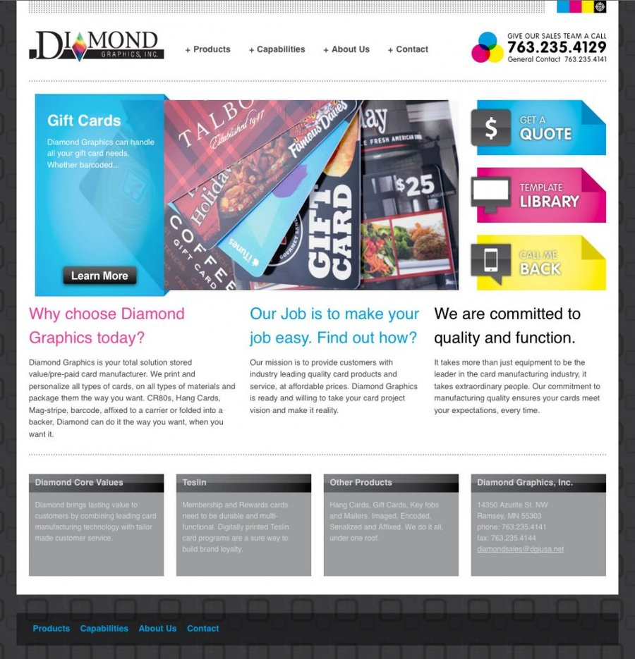 A great web design by Mipaca Interactive, LLC, Denver, CO: Website, Marketing Website , Technology , PHP