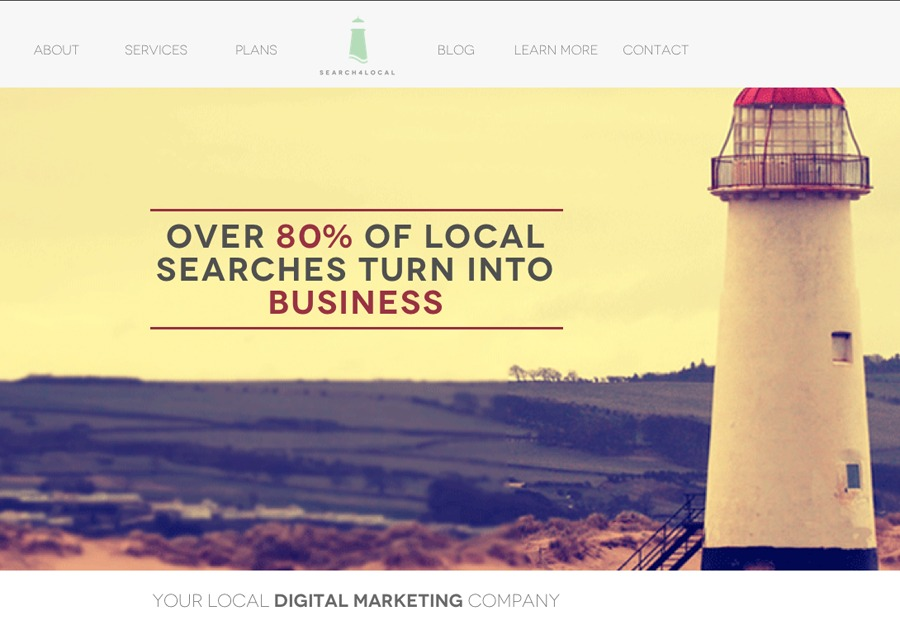 A great web design by search4local, Vancouver, Canada: