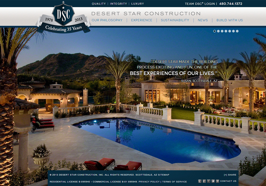 A great web design by Skyhook Internet Marketing, Phoenix, AZ: