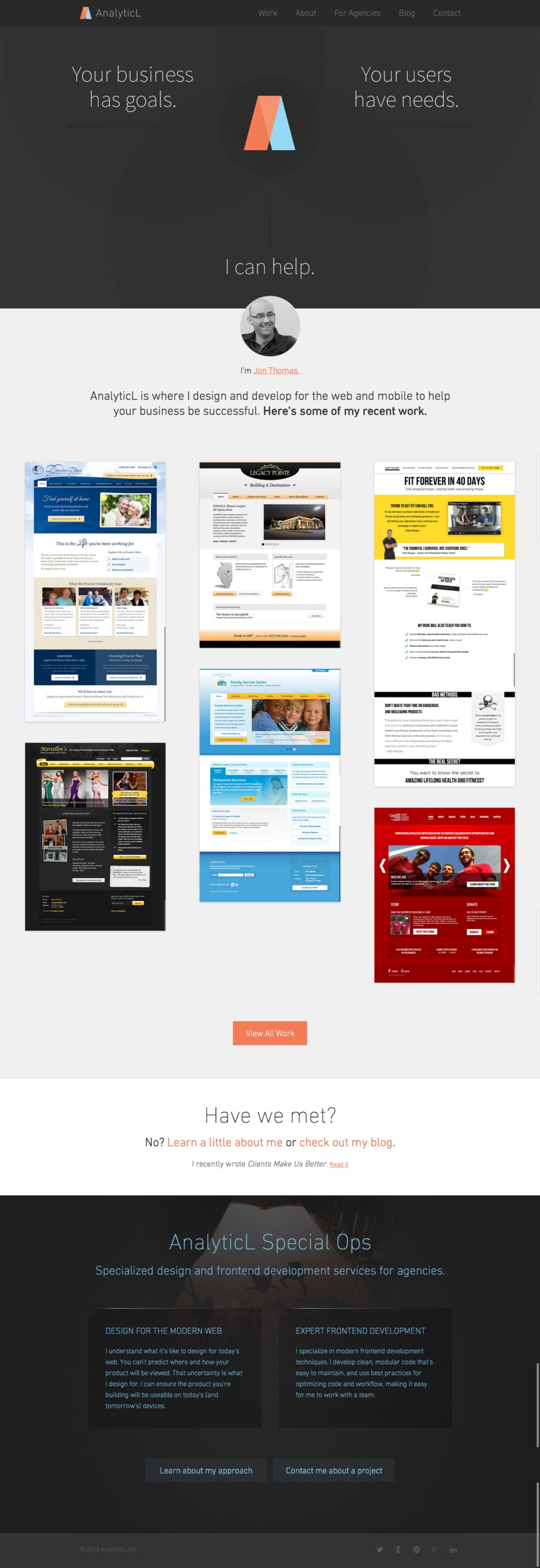 A great web design by AnalyticL Inc., Chicago, IL: Website, Marketing Website , Internet , Other