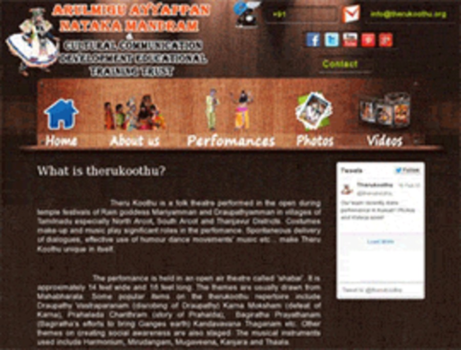 A great web design by LetoNyx Technologies is a sole proprietorship company based in India, Chennai, India: