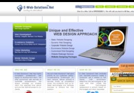 A great web design by e-web-solutions.net, New Delhi, India: Website, E-Commerce , Internet , PHP