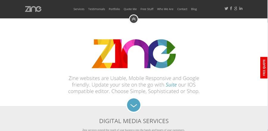 A great web design by Zine UK , Glasgow, United Kingdom: