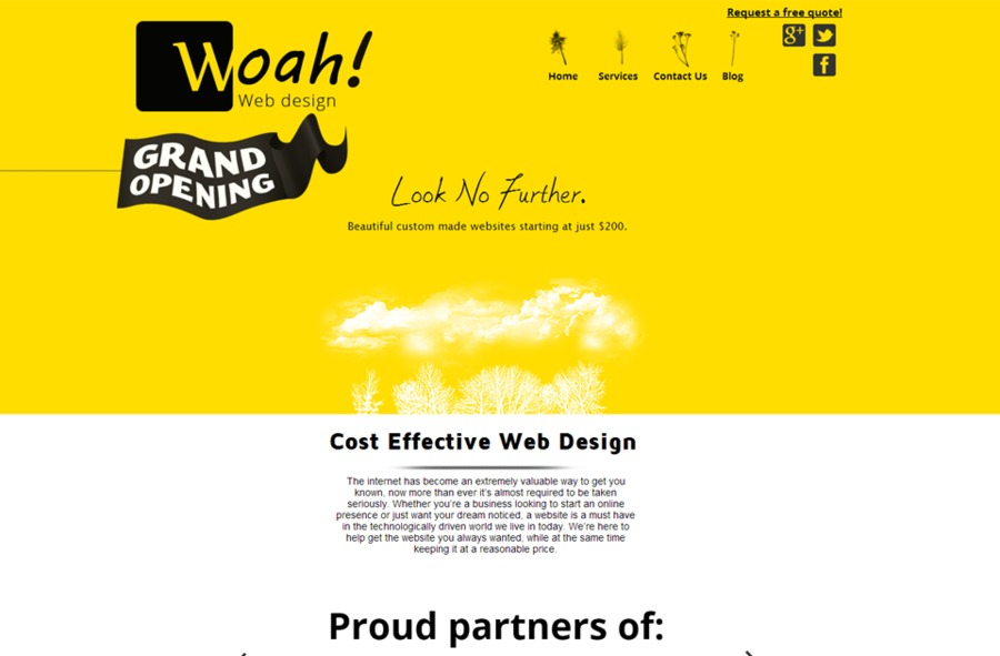 A great web design by Woah Web Design, Reno, NV: