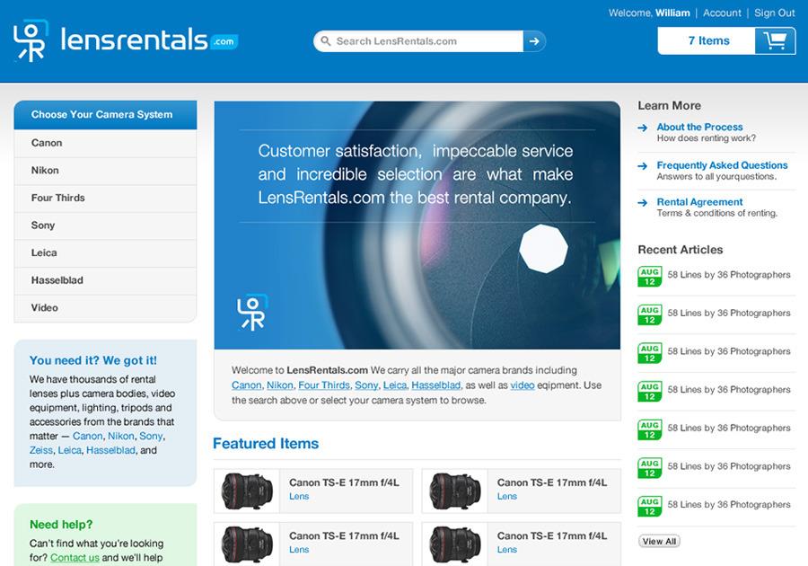 A great web design by Hashrocket, Inc., Jacksonville Beach, FL: Website, E-Commerce , Film & Video , Ruby on Rails
