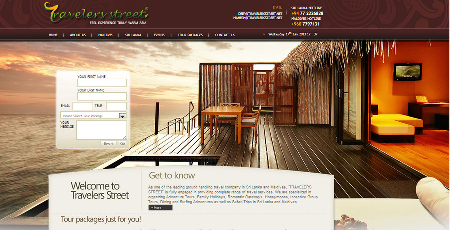 A great web design by DesignSolv, Dehiwala, Sri Lanka: