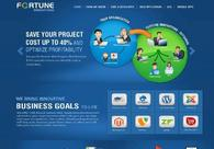 A great web design by Fortune Softtech Jacksonville, New York, NY: