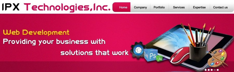 A great web design by IPX Technologies, Inc, Miami, FL: