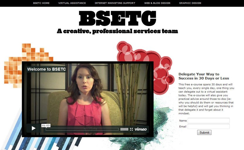 A great web design by BSETC | Erin Blaskie, Ottawa, Canada: