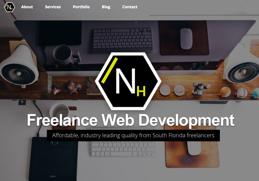 A great web design by Nerdy House Media, Hollywood, FL: Responsive Website, PHP