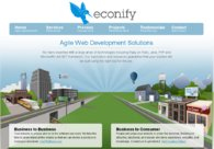 A great web design by Econify, New York, NY: