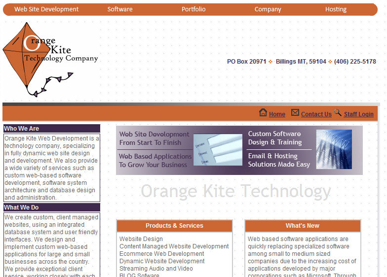 A great web design by Orange Kite Technology, Jacksonville, FL:
