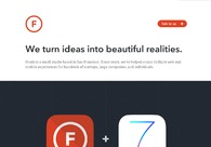 A great web design by Fruda, San Francisco, CA: Portfolio , Internet