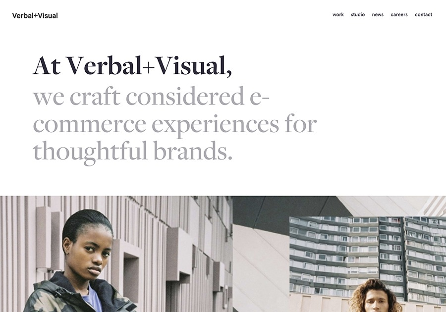 A great web design by Verbal+Visual, New York, NY: Responsive Website, Marketing Website