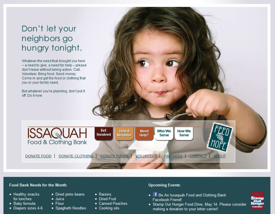 A great web design by Fingerprint Marketing, Seattle, WA: