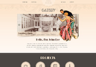 A great web design by Webvilla.pl, Cracow, Poland: Website, Blog , Entertainment , Wordpress