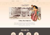A great web design by Webvilla.pl, Cracow, Poland: Website, Blog , Entertainment , Wordpress
