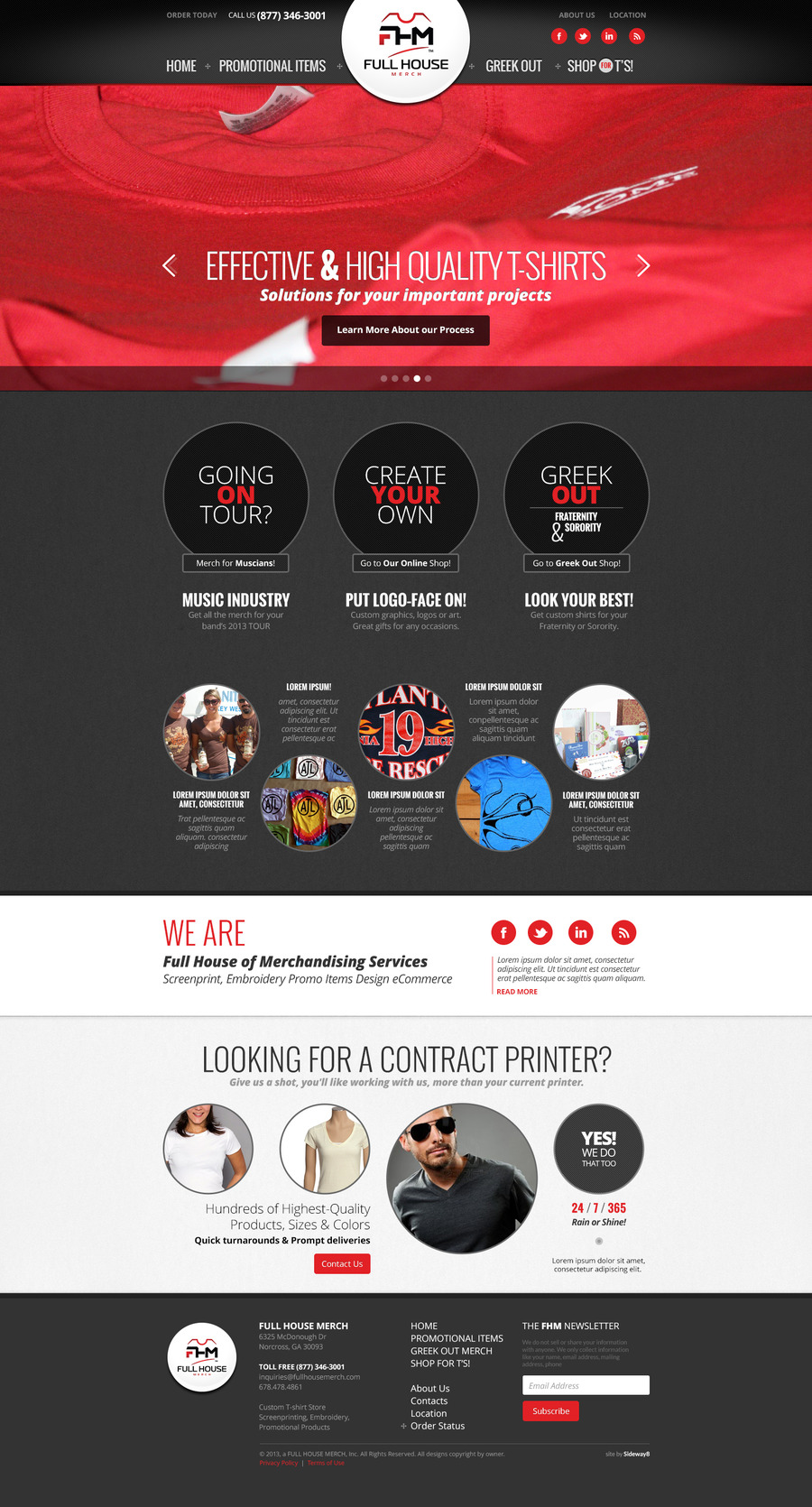 A great web design by Sideways 8 Interactive, Atlanta, GA: Responsive Website, Marketing Website , Marketing , Wordpress