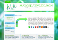 A great web design by MJG Creative Design, Johnston, RI: