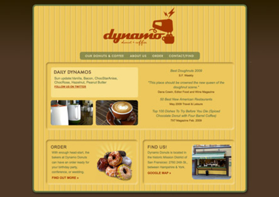 A great web design by Betsy Lyon Creative, San Francisco, CA: