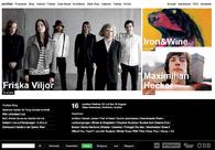 A great web design by Zeughaus, Vorarlberg, Austria: