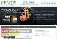 A great web design by Centis Technology, New York, NY: Website, Web Application , Technology , Static HTML