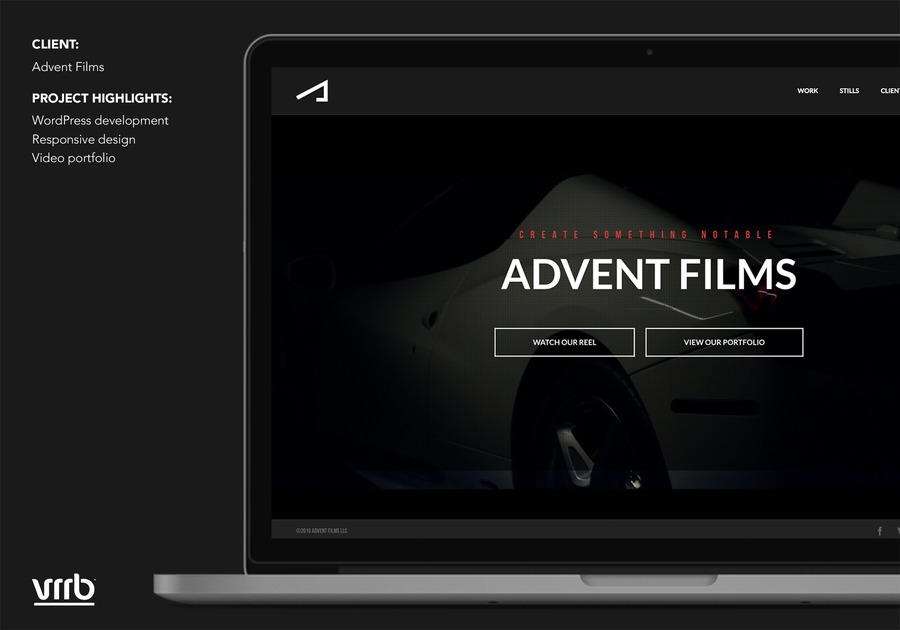 A great web design by Vrrb Interactive, Boston, MA: Responsive Website, Marketing Website , Entertainment , Wordpress