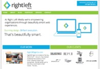 A great web design by Right Left Media, Indianapolis, IN: