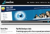 A great web design by Ezeelive Web Solution - Php, Web Developers Mumbai, India, Mumbai, India:
