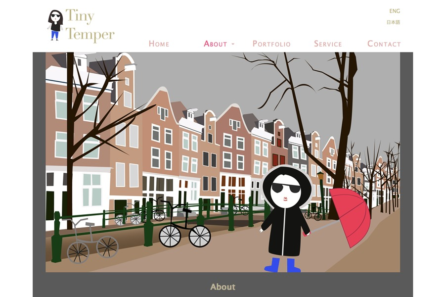 A great web design by Tiny Temper, Amsterdam, Netherlands: