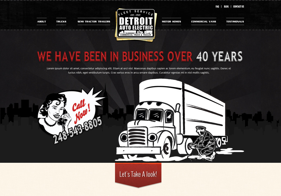 A great web design by Design Source Media, Detroit, MI:
