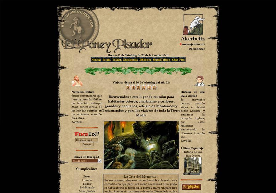 A great web design by Nemain Macha, Pamplona, Spain: